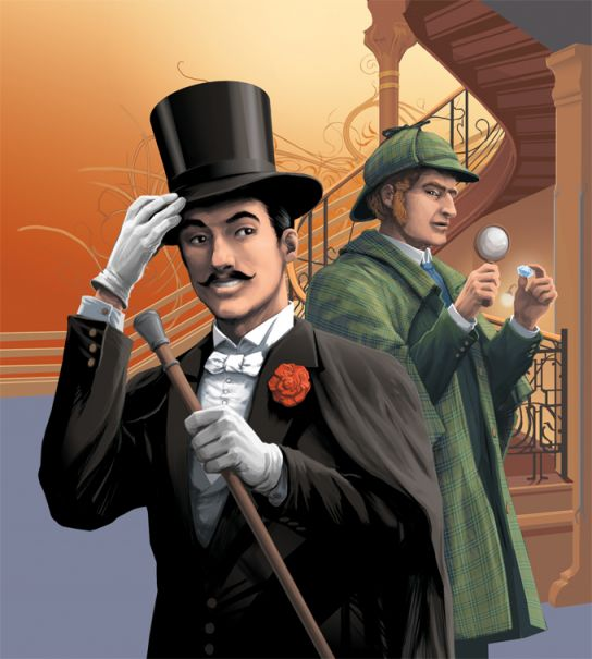 Arsène Lupin contre Sherlock Holmes